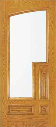 JELD-WEN 203 Custom Wood Glass Panel