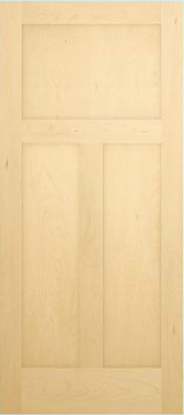 JELD-WEN 1033 Authentic Wood All Panel