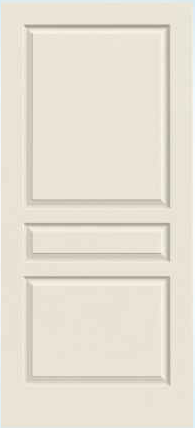 JELD-WEN Avalon Molded Wood Composite All Panel Interior Door