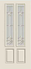 JELD-WEN 422 Steel Glass Panel Exterior Door
