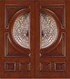JELD-WEN 250 Custom Wood Glass Panel Exterior Door