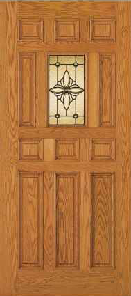 JELD-WEN 404 Custom Wood Glass Panel