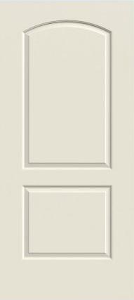 JELD-WEN Continental Molded Wood Composite All Panel