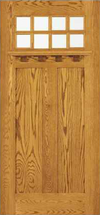 JELD-WEN 381 Custom Wood Glass Panel