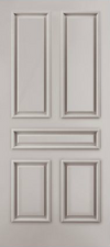 JELD-WEN C5060 Custom Carved Wood Composite All Panel