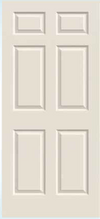 JELD-WEN Bristol Molded Wood Composite All Panel Interior Door