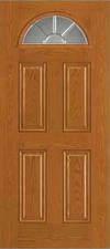 JELD-WEN 659 Design-Pro & Smooth-Pro Fiberglass Glass Panel