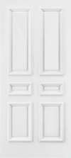 JELD-WEN C6020 Custom Carved Wood Composite All Panel