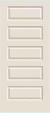 JELD-WEN Rockport Molded Wood Composite All Panel Interior Door