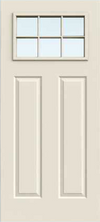 JELD-WEN 817 Steel Glass Panel Exterior Door