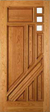 JELD-WEN 210 Custom Wood Glass Panel