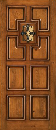 JELD-WEN 1209 Custom Wood All Panel