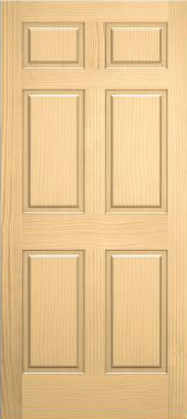 JELD-WEN 66 Authentic Wood All Panel