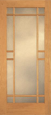 JELD-WEN E0513 Custom Wood Glass Panel Interior Door