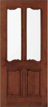 JELD-WEN 116 Custom Wood Glass Panel Exterior Door