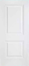 JELD-WEN 20 Steel All Panel Exterior Door