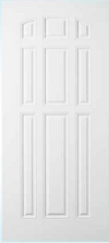 JELD-WEN 90 Steel All Panel Exterior Door