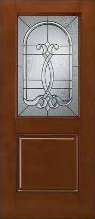 JELD-WEN 684 Design-Pro & Smooth-Pro Fiberglass Glass Panel
