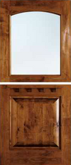 JELD-WEN 1242 Custom Wood Dutch Exterior Door