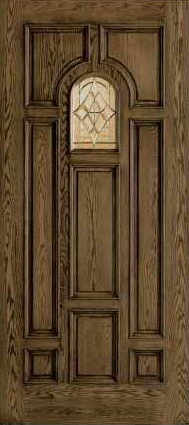 JELD-WEN 125 Custom Wood Glass Panel