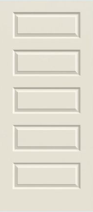 JELD-WEN Rockport Molded Wood Composite All Panel