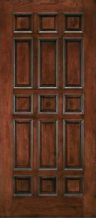 JELD-WEN 105 Custom Wood All Panel