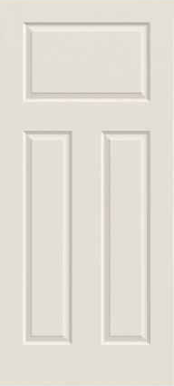 JELD-WEN 30 Craftsman Steel All Panel Exterior Door