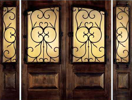 JELD-WEN 1265 Custom Wood Glass Panel