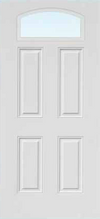 JELD-WEN 648 FiberLast Engineered Composite Glass Panel Exterior Door