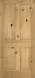 JELD-WEN 1044 Authentic Wood All Panel