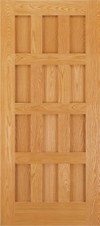 JELD-WEN E1212 Custom Wood All Panel Interior Door