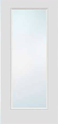 JELD-WEN 686 FiberLast Engineered Composite Glass Panel Exterior Door