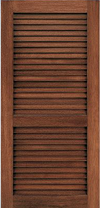 JELD-WEN L202 Custom Wood Louver Interior Door