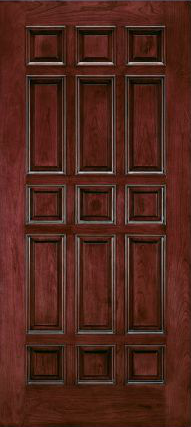 JELD-WEN E0105 Custom Wood All Panel Interior Door