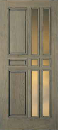 JELD-WEN 860 Custom Wood Glass Panel