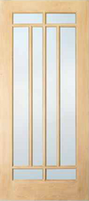 JELD-WEN 508 Custom Wood Glass Panel