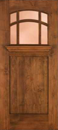 JELD-WEN 386 Custom Wood Glass Panel