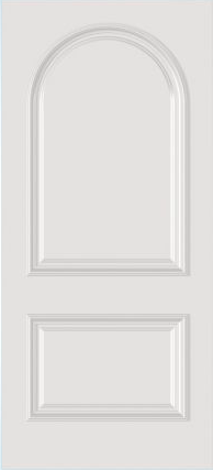 JELD-WEN C2190 Custom Carved Wood Composite All Panel