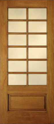 JELD-WEN 442 Custom Wood Glass Panel