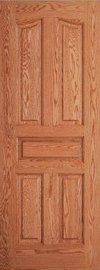 JELD-WEN E055C Custom Wood All Panel Interior Door