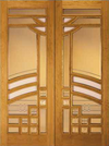 JELD-WEN 268 Custom Wood Glass Panel