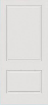 JELD-WEN C2060 Custom Carved Wood Composite All Panel