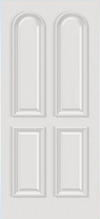 JELD-WEN C4090 Custom Carved Wood Composite All Panel