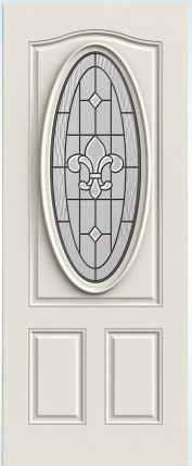 JELD-WEN 949 Steel Glass Panel Exterior Door