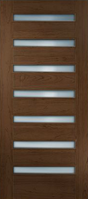 JELD-WEN W17H Custom Wood Glass Panel Interior Door