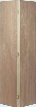JELD-WEN Birch Flush Bifold Interior Door