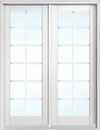 JELD-WEN Custom Wood Swinging Patio Door