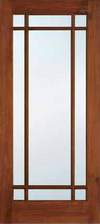 JELD-WEN 509 Custom Wood Glass Panel