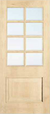 JELD-WEN 1218 Custom Wood Glass Panel