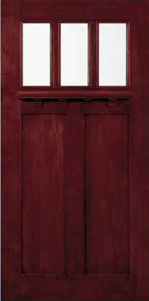 JELD-WEN 383 Custom Wood Glass Panel